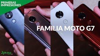 Familia MOTO G7 llega a MÉXICO, primeras impresiones y PRECIO OFICIAL
