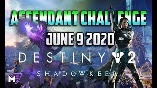 Ascendant Challenge June 9 2020 Solo Guide | Destiny 2 | Corrupted Eggs & Lore Location