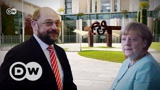 Теледуэль Меркель и Шульца: у кого больше шансов?