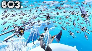 x100 AIRPLANES ATTACK!! - Fortnite Funny WTF Fails and Daily Best Moments Ep. 803