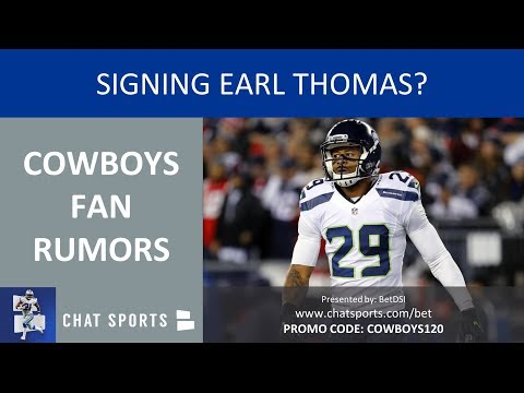 Cowboys Fan Rumors: Sign Earl Thomas, Kris Richard As DC, Trade For Antonio Brown & 2019 NFL Draft