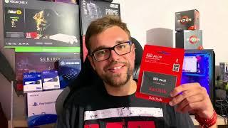SanDisk SSD Plus 2TB Unboxing + kurzer Test / Review