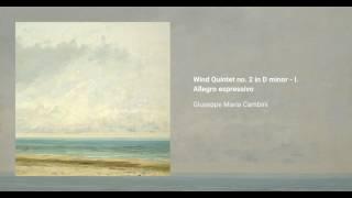 Wind Quintet no. 2 in D minor