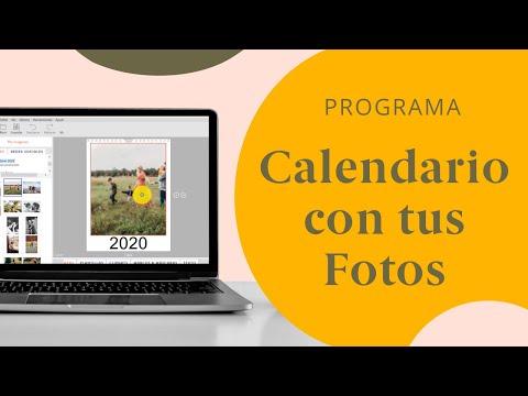 Video - Cómo hacer un calendario personalizado con fotos para el 2021
