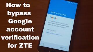 Bypass Google Lock Zte Z899vl