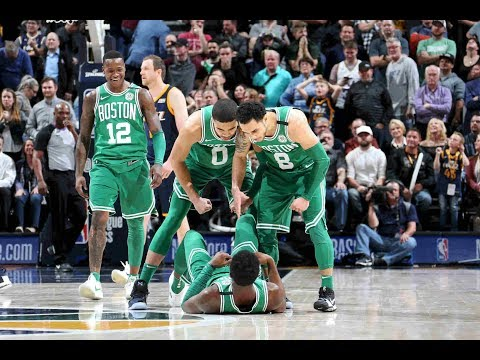 The Celtics Lead The League In Being CLUTCH!
