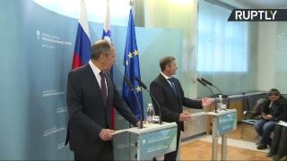 Лавров и глава МИД Словении подводят итоги переговоров