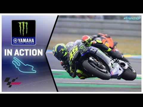 Yamaha in action: SHARK Helmets Grand Prix de France