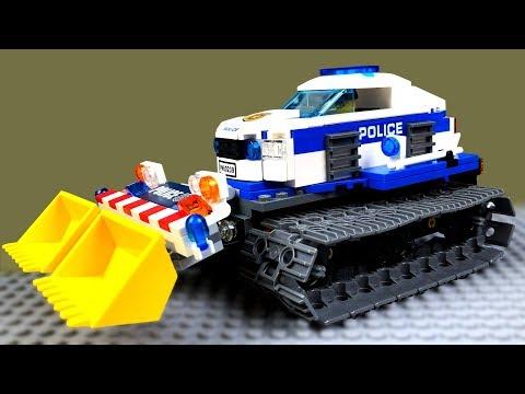 LEGO Мультик 🔴 Полицейская Машина Вездеход 🚓 🚜 Мультики про машинки