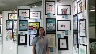 Ucapan 8th Anniversary UPHC dari Siswa/i CreativeART