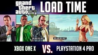 Xbox One X vs. PS4 Pro   Which Console Loads Grand Theft Auto V Faster?