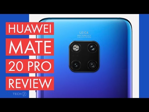 Huawei Mate 20 Pro Review - Most feature loaded phone of 2018