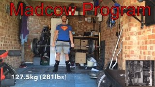 Madcow 5x5 || Powerlifting Program Review (Including training footage) || #smallchannelsunite