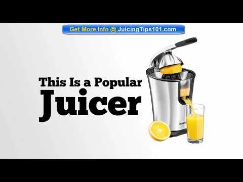 , Gourmia EPJ100 Electric Citrus Juicer