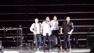The Package Tour: 98 Degrees Intro - Heat it Up