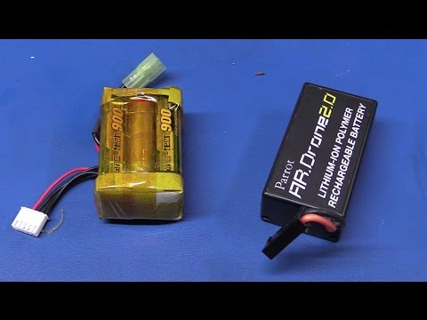 """Making a """"DIY"""" Lipo Battery Pack (for an AR  Drone) - Ec-Projects"""