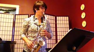 "Introducing ""The Saxophone Lady!"""