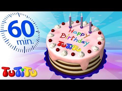 Especial TuTiTu en español | Torta de cumpleaños | Y otros juguetes populares | 1 Hora Especial