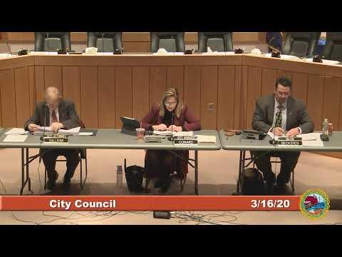 City Council 3.16.2020