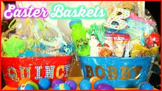 WHATS IN THE BOYS EASTER BASKETS |DOLLAR TREE BASKET IDEAS | Sensational Finds