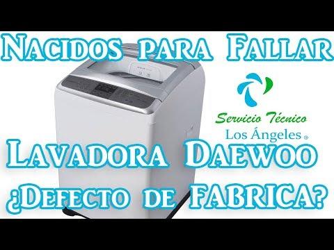 No compres esta lavadora Daewoo/Nacidos para fallar