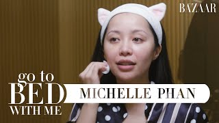 @Michelle Phans Nighttime Skincare Routine | Go To Bed With Me | Harpers BAZAAR