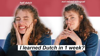 I Learned Dutch In A Week To Reclaim My Heritage. 🇳🇱