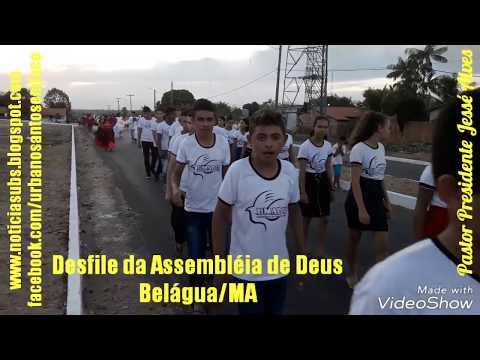 Desfile da Assembléia de Deus em Belágua/MA