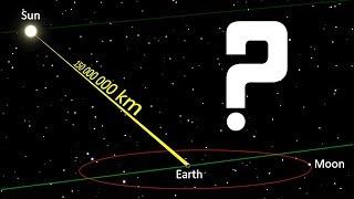 Размер Солнца и расстояние до него Ю. Рыбников
