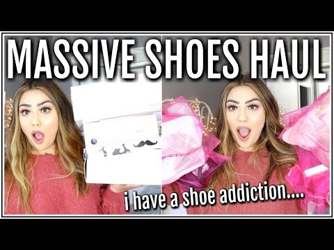 HUGE HEELS / SHOES HAUL.. I WENT CRAZY! ♡ FASHION NOVA ♡ Adyel Juergensen