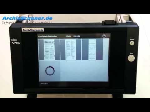 Fujitsu N7100 Netzwerkscanner im Praxistest