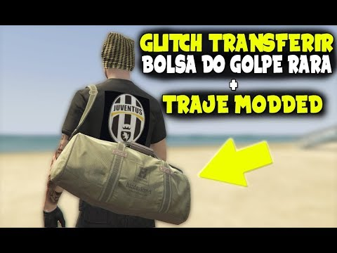 GTA V ONLINE: TRANSFERIR BOLSA DO GOLPE RARA + TRAJE MODDED / PS3,PS4,XBOX 360,XONE E PC