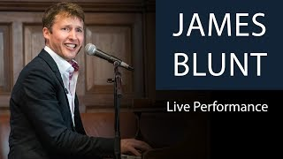 James Blunt | Goodbye My Lover | Live Performance At Oxford Union