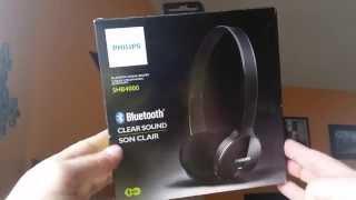 Philips SHB4000 Bluetooth wireless Headphones