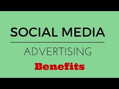 Social Media Advertising Benefits