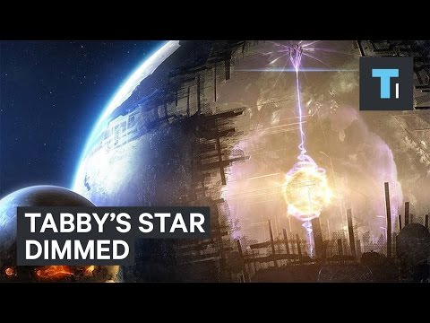 The 'alien megastructure' star is acting weird again