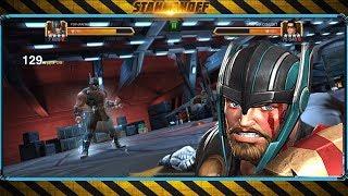 Тест-драйв Тор Рагнарёк! \ Thor Ragnarok test-drive Marvel: Contest of Champions