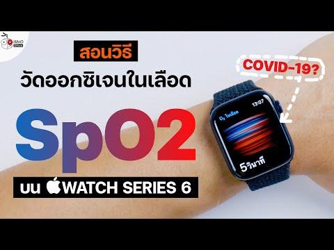 วัดออกซิเจนในเลือด (SpO2) บน Apple Watch ทำอย่างไร? เกี่ยวอะไรกับ COVID-19 | iMoD