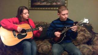 """By The Mark"" in the style of Dailey & Vincent - cover by Timothy and Katherine Baker"