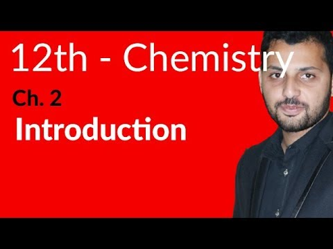 FSc Chemistry Book 2, Ch 2 - Introduction About S Block Elements - 12th Class Chemistry