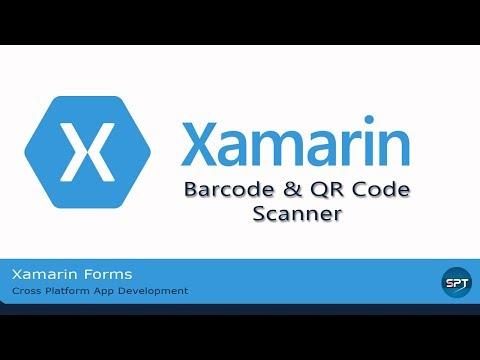 Bar Code Reader in xamarin form Pcl project — Xamarin