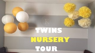 Boy/ Girl Twins Nursery Tour.... A Year Later ❥reesejai