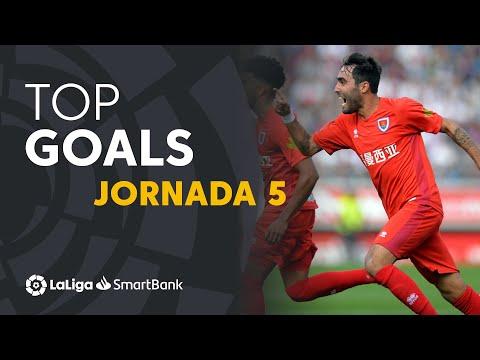 Todos los goles de la Jornada 05 de LaLiga SmartBank 2019/2020