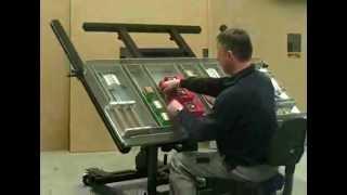 Видео: Монтажна маса AMT 150 на Alfra