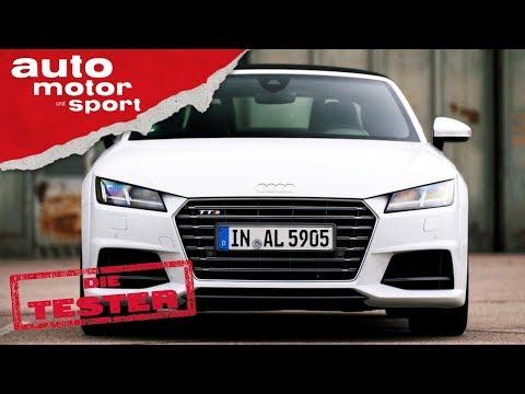 Audi TTS Roadster: Weiß, aber nicht unschuldig - Die Tester | auto motor und sport