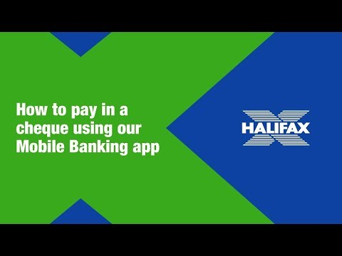 Video explaining how to use our mobile app to deposit cheques.