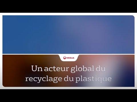 Un acteur global du recyclage du plastique