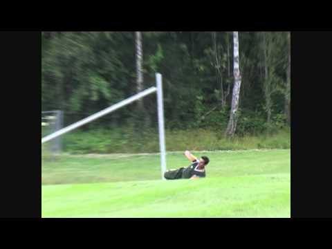 Great Catch By Iftikhar Aslam T-20 ( cricket Norway 2012 )