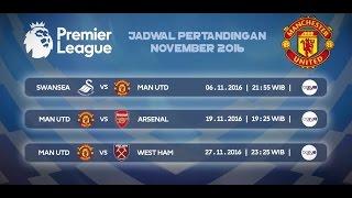 Jadwal Pertandingan Manchester United November 2016