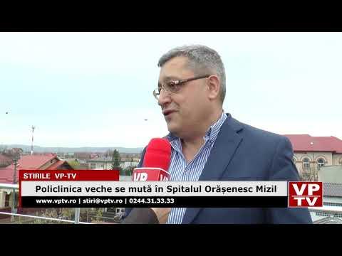 Policlinica veche se mută în Spitalul Orășenesc Mizil